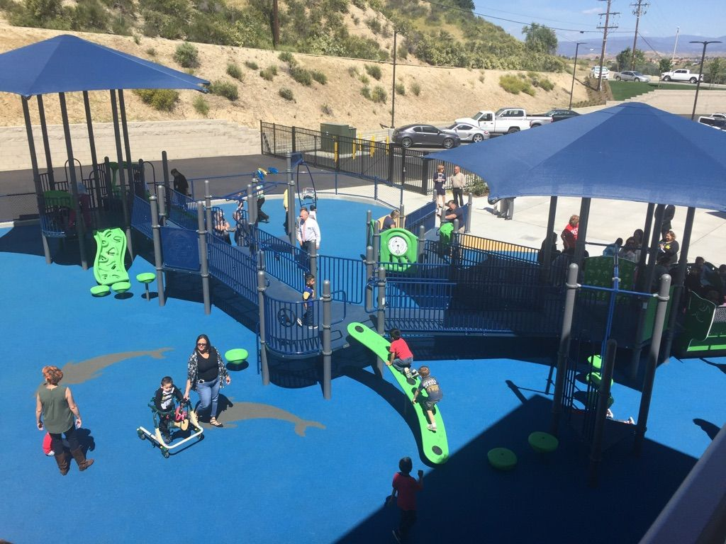 Newhall California School Playground Using Safety Surfacing
