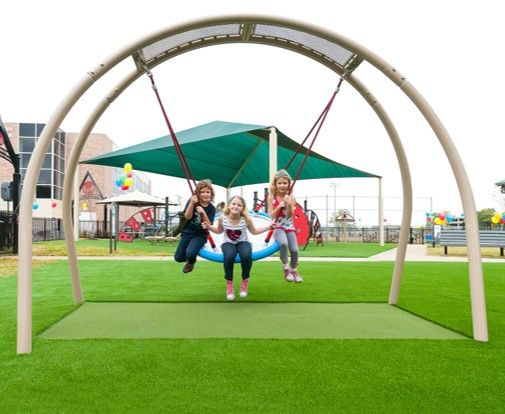Synthetic Playground Grass